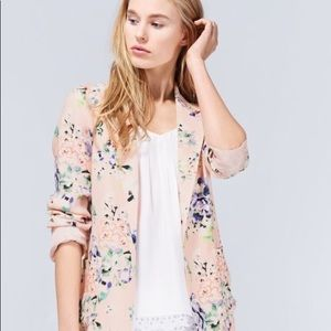 Talula (Aritzia) 'Kent' Floral Print Blazer